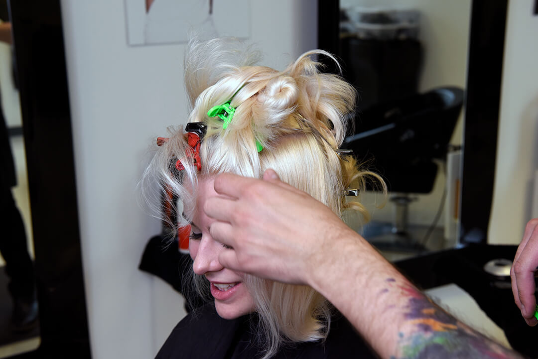 Holographic Hair Color - Step 15