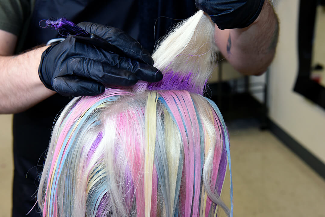 Holographic Hair Color - Step 18