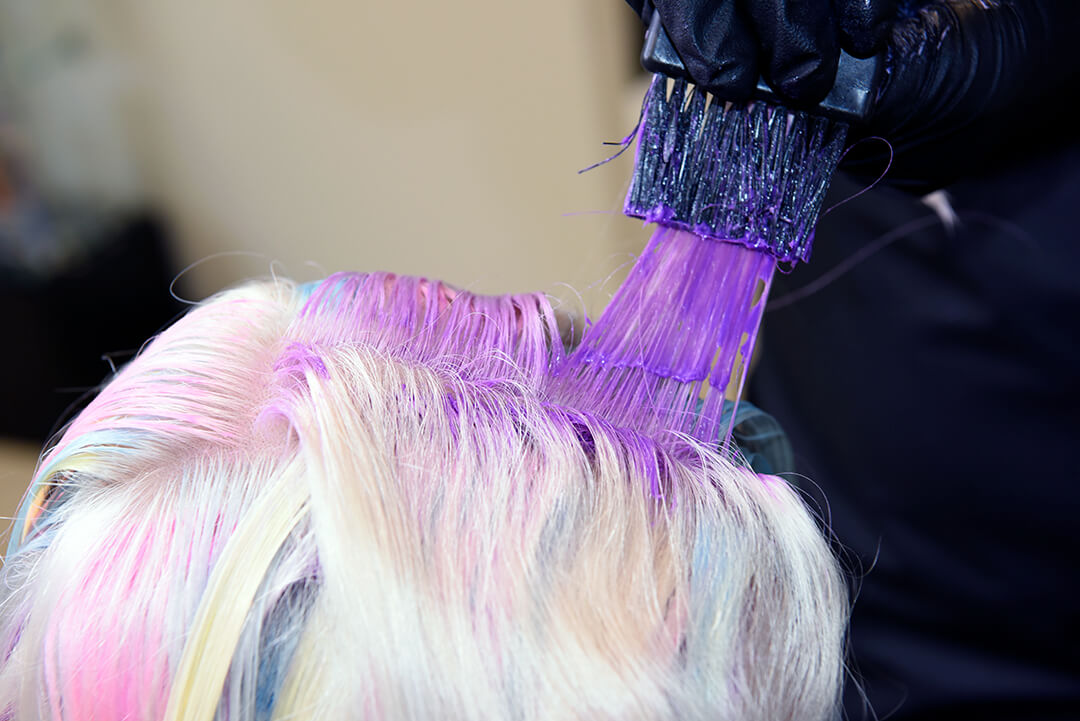 Holographic Hair Color - Purple Hair Color