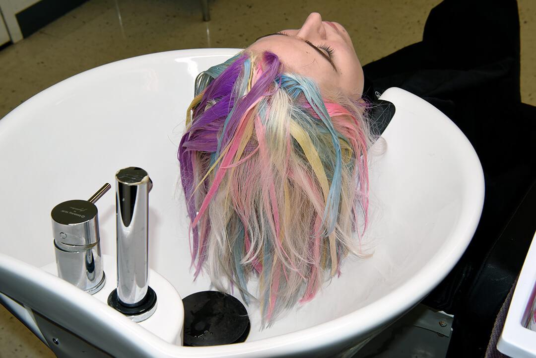 Holographic Hair Color - Rainbow Haircolor