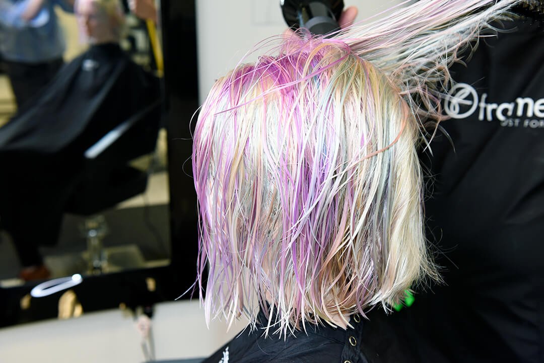 Drying Holographic Hair