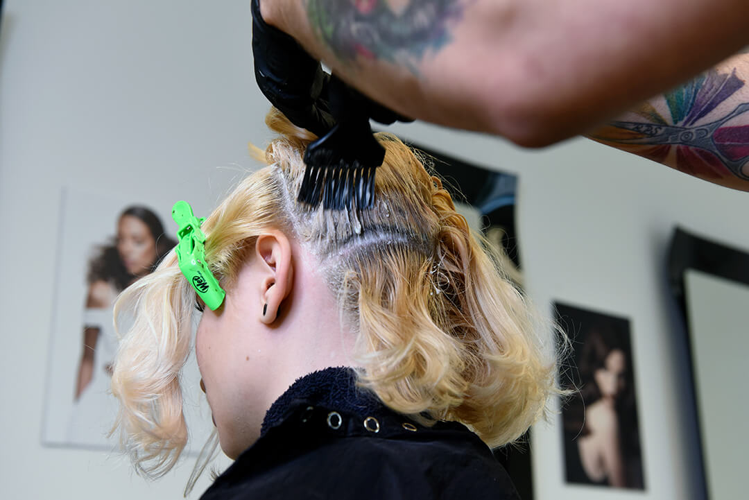 Holographic Hair Color - Step 2