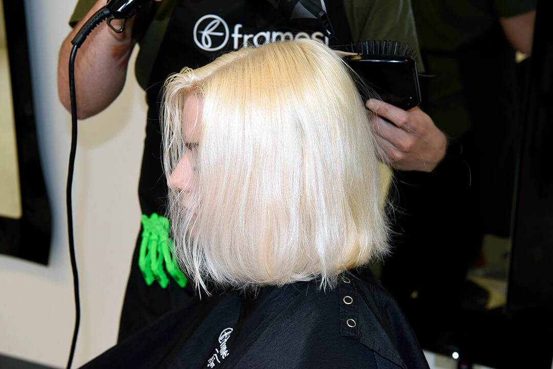 Holographic Hair Color - Step 12